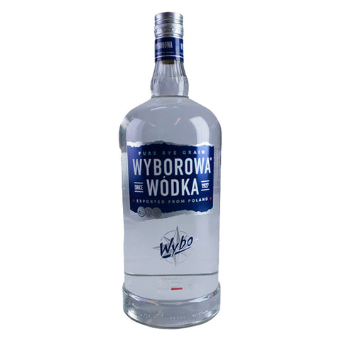 Wyborowa Exquisite Premium Vodka 1750ml Premium Vodka - Drinkka Alcohol Delivery Best Whiskey Wine Gin Beer Vodkas and more for Parties in Makati BGC Fort and Manila | Bevtools Bar and Beverage Tools