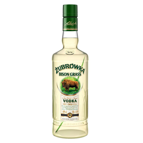Zubrovka Bison Vodka - 700ml - Bevtools Bar Tools and Alcohol Delivery