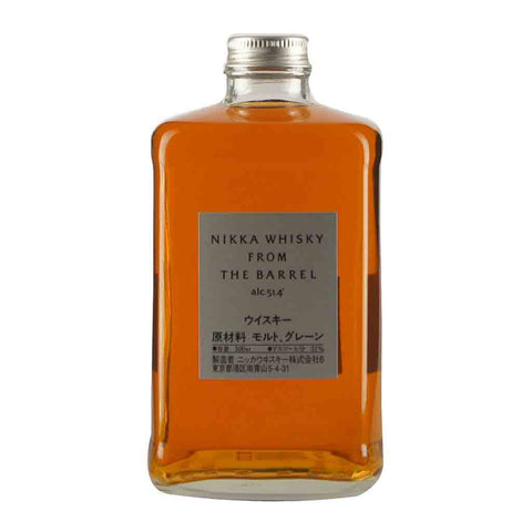 Nikka from the Barrel Blended Japanese Whisky - 500ml Whiskey - Drinkka Alcohol Delivery Best Whiskey Wine Gin Beer Vodkas and more for Parties in Makati BGC Fort and Manila | Bevtools Bar and Beverage Tools