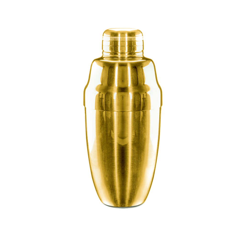 Heavyweight Cobbler Shaker - Gold Shakers - Drinkka Alcohol Delivery Best Whiskey Wine Gin Beer Vodkas and more for Parties in Makati BGC Fort and Manila | Bevtools Bar and Beverage Tools