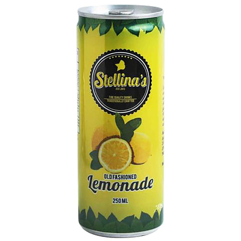 Stellina's Old Fashioned Lemonade in Can 250ml
