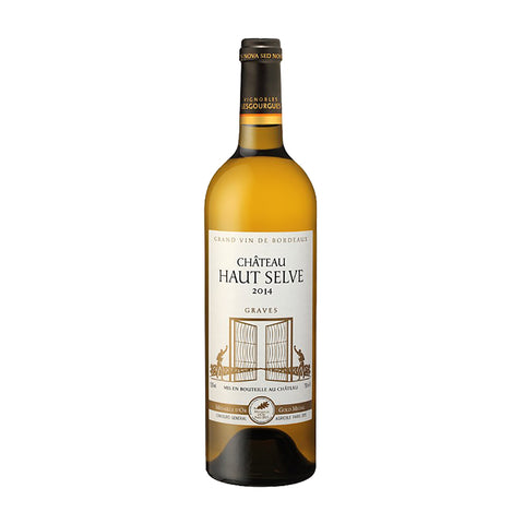 Chateau Haut Selve Blanc 2014 - 750ml White Wine - Drinkka Alcohol Delivery Best Whiskey Wine Gin Beer Vodkas and more for Parties in Makati BGC Fort and Manila | Bevtools Bar and Beverage Tools