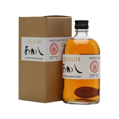 Akashi White Oak Blended - 500ml Whiskey - Drinkka Alcohol Delivery Best Whiskey Wine Gin Beer Vodkas and more for Parties in Makati BGC Fort and Manila | Bevtools Bar and Beverage Tools