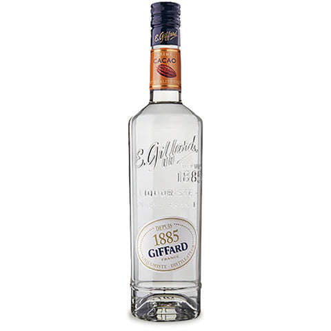 Giffard Creme Cacao White 25% - 700ml Chocolate Liqueur - Drinkka Alcohol Delivery Best Whiskey Wine Gin Beer Vodkas and more for Parties in Makati BGC Fort and Manila | Bevtools Bar and Beverage Tools