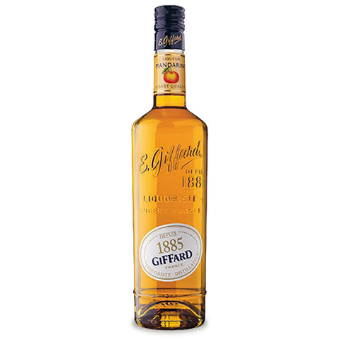 Giffard Mandarine - 700ml Syrups - Drinkka Alcohol Delivery Best Whiskey Wine Gin Beer Vodkas and more for Parties in Makati BGC Fort and Manila | Bevtools Bar and Beverage Tools