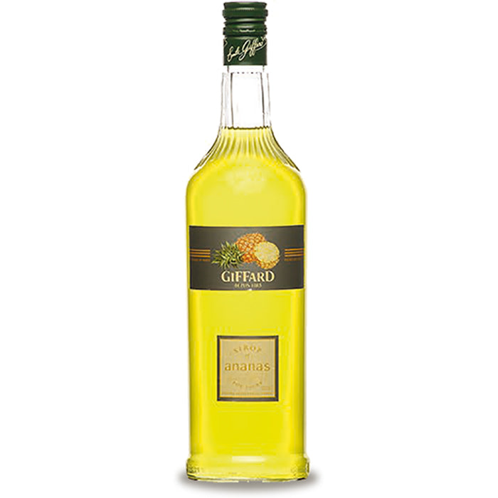 Giffard Ananas (Pineapple) Syrup - 1000ml Syrups - Drinkka Alcohol Delivery Best Whiskey Wine Gin Beer Vodkas and more for Parties in Makati BGC Fort and Manila | Bevtools Bar and Beverage Tools