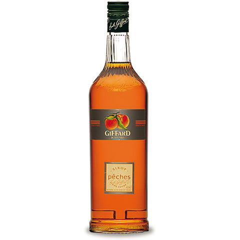 Giffard Peches (Peach) Syrup - 1000ml Syrups - Drinkka Alcohol Delivery Best Whiskey Wine Gin Beer Vodkas and more for Parties in Makati BGC Fort and Manila | Bevtools Bar and Beverage Tools