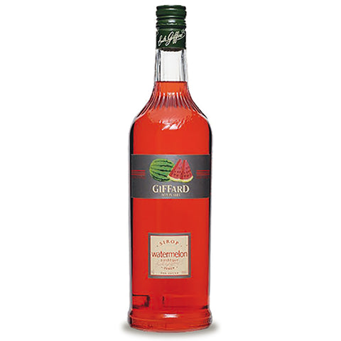 Giffard Watermelon (Pasteque) Syrup - 1000ml Syrups - Drinkka Alcohol Delivery Best Whiskey Wine Gin Beer Vodkas and more for Parties in Makati BGC Fort and Manila | Bevtools Bar and Beverage Tools