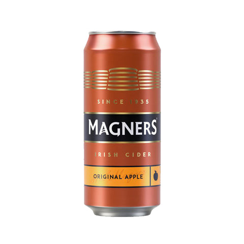 Magners Original Irish Cider Beer Apple in Can 500ml (Pack of 4) Cider - Drinkka Alcohol Delivery Best Whiskey Wine Gin Beer Vodkas and more for Parties in Makati BGC Fort and Manila | Bevtools Bar and Beverage Tools