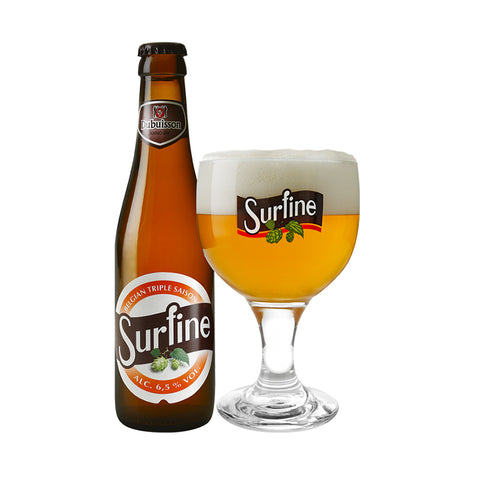 Surfine Belgian Saison Beer - 330ml Imported Craft Beer - Drinkka Alcohol Delivery Best Whiskey Wine Gin Beer Vodkas and more for Parties in Makati BGC Fort and Manila | Bevtools Bar and Beverage Tools