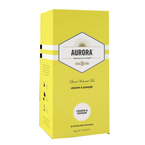 Aurora Lemon & Ginger Tea (Box of 25)