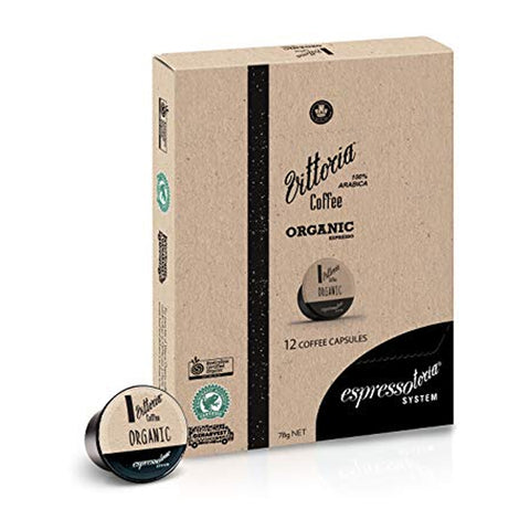 Vittoria Organic Capsule (Box of 12)