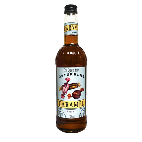 Osterberg Syrups Caramel -750ml Syrups - Drinkka Alcohol Delivery Best Whiskey Wine Gin Beer Vodkas and more for Parties in Makati BGC Fort and Manila | Bevtools Bar and Beverage Tools