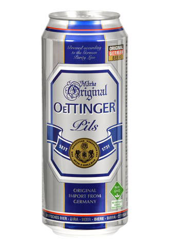 Oettinger Pils Beer Pack of 6 - 500ml