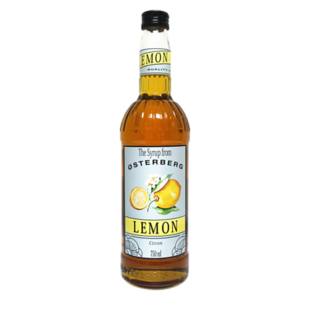 Osterberg Syrups Lemon -750ml Syrups - Drinkka Alcohol Delivery Best Whiskey Wine Gin Beer Vodkas and more for Parties in Makati BGC Fort and Manila | Bevtools Bar and Beverage Tools