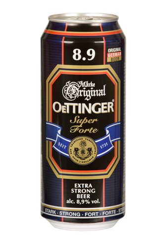 Oettinger Super Forte Beer 1 case - 500ml