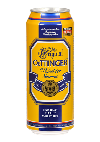 Oettinger Wheat Beer Pack of 6 - 500ml