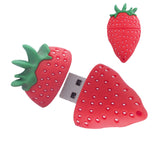 Memory-Flash Drive. Strawberry