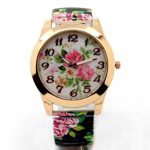 Watch- Floral Face. SALE ON-25% OFF