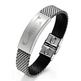 Stainless Steel Bracelet with Scorpion