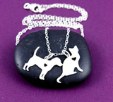 Pendant Necklace for dog and cat lovers