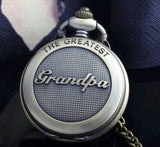 Fob Watch- Grandpa. NOW ON SALE