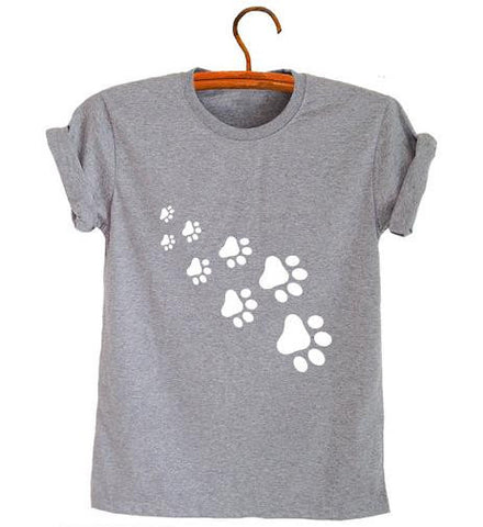 T-Shirt - Cute Cat Paws