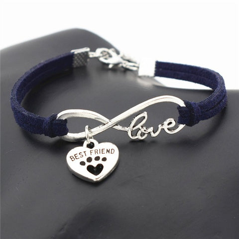 Bracelet - Love Your DOG or CAT Paw Print