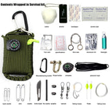 SURVIVAL Kit- Paracord Gear Emergency