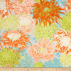 Kaffe Fassett Collective Japanese Chrysanthemum Spring PWPJ041.Priced per 25cm