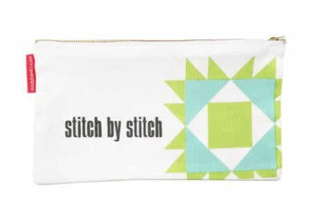 Moda QUILT BLOCK Zipper Bag