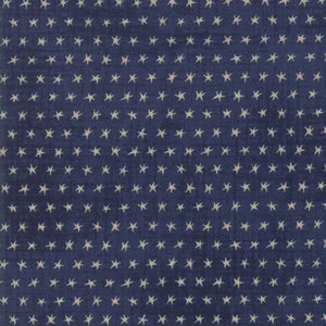 EBB AND FLOW by Janet Clare Starfish Dark Blue