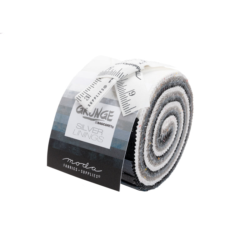 *GRUNGE Junior Jelly Roll 30150JJRCC by Basic Grey SILVER LININGS