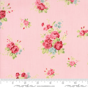 CAROLINE Bloom -Floral Pink - 18650 14.Priced per 25cm.