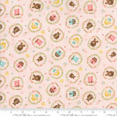 Moda -  Home Sweet Home Goldies Story Pink  M 20572-11