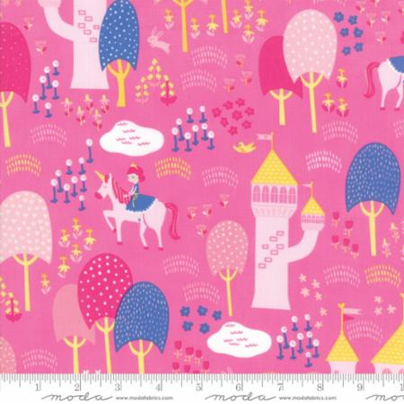 ONCE UPON A TIME Childrens Palace Grounds Pink Stacy Best Hsu  M2059215.Priced per 25cm.