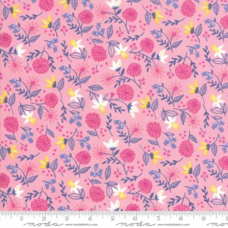 ONCE UPON A TIME Childrens Royal Garden Pink Stacy Best Hsu  M2059413.Priced per 25cm.