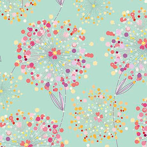 CONFETTI BLOSSOMS - CONFETTI BLOSSOMS PACKED 26234 -H  MED. SEAFOAM.Priced per 25cm