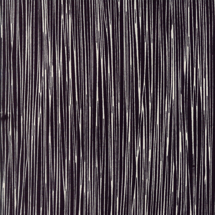 THICKET Black on Natural Stripes Yardage SKU# 48205-24.Priced per 25cm.
