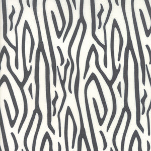SAVANNAH Zebra Stripe Charcoal 48222 15.Priced per 25cm.