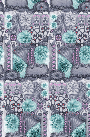 English Summer - Tourist in Amethyst by Anna Maria Horner.Priced per 25cm