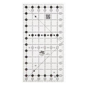 "Creative Grids RECTANGLE 12.5"" X 6.5"" Ruler CG R612"