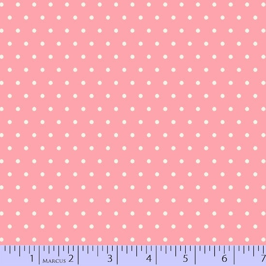 Marcus Fabric - Grumpy Cat Pink Dot 9733-126