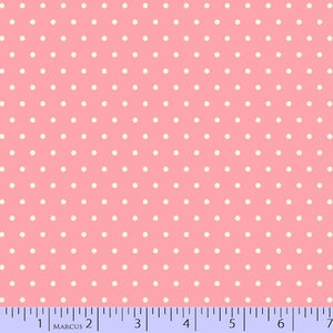 Marcus Fabric Grumpy Cat Pink Dot 9733-126.Priced per 25cm