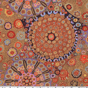 Kaffe Fassett Collective Millefiore Brown GP92.Priced per 25cm