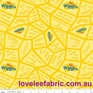 Ready, Steady, Wiggle!, Songs Yellow.Priced per 25cm.