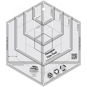 Creative Grids Hexagon Trim Tool CG RJAW4