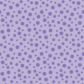 ALPINE FABRICS FLANNEL - F510-2 Purple on Lilac Dot.Priced per 25cm