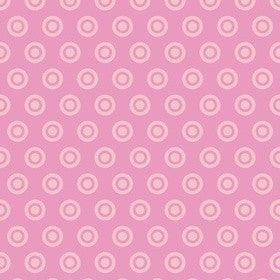 ALPINE FABRICS FLANNEL - Circle Dot Flannel Pink - PATTERN F520-5 Pink..Priced per 25cm