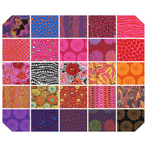 "*Pre Order* Kaffe Fassett Collective FB610RGP HOT Feb 2021 10"" CHARM (Layer Cake)- Due March/April 2021"